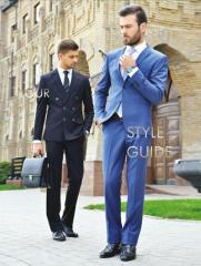 Jacket trousers man's sets