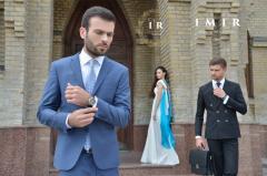 Мужской костюм брюки пиджак IMIR Classic