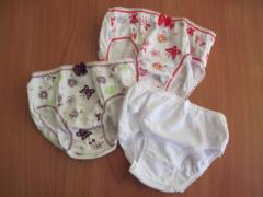 Clothes knitted nursery