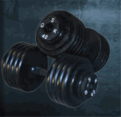 Dumbbells from Alpha-Spor