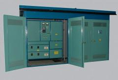 Transformer substation city GKTP-160-630/10(6) -