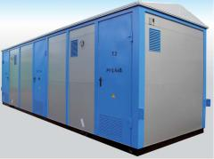 City complete transformer substation like GKTP