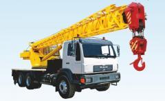 Автокран г/п 50 тон на базе шасси MAN 8x4