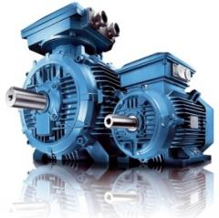 The electric motor of a direct current from 10 kW