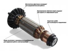 Electric motors of a direct current in the