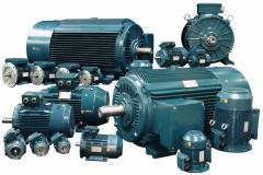 Electric motors in assortmen