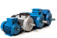 Electric motors are asynchronous explosion-proof