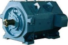 Electric motors for the excavator