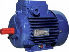 Electric motors are low-voltage