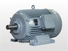 Electric motor of a low voltage