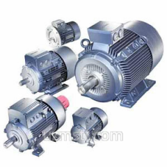 The electric motor is three-phase&nbsp