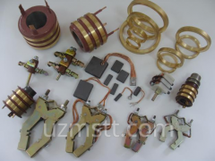 Spare parts of engines for special