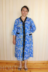 Dressing gowns female L-37 Model
