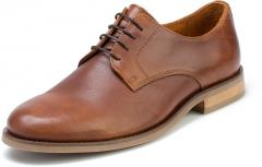Shoes are brown