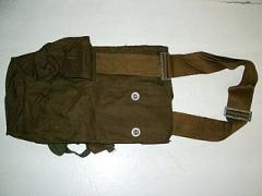 Bag from a gas mask