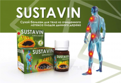 SUSTAVIN dry balm for a body