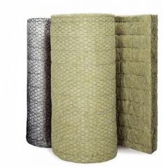 Sound insulation from basalt fiber and plates