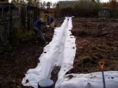 Geotextile cloth: nonwoven geotextiles