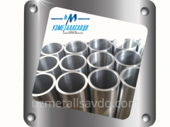 Pipes seamless of corrosion-resistant steel