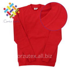 Sweatshirt with pile long sleeve