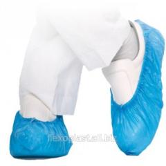 Chaussures jetables en polyéthylène
