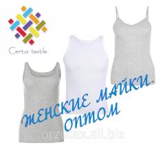 Undershirt female to kashkorsa of 160 g/m2 of 100%