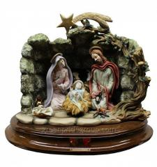 Porcelain Figurine Birth of Jesus Christ of