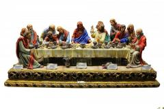 Porcelain Figurine Last Supper of Jesus Christ of