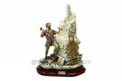 Figurine from porcelain Moisey (Big) the Article