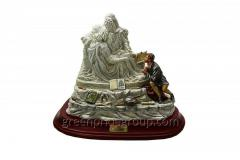 Figurine from porcelain Grieving Vatican (Big) the