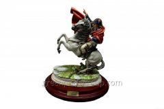 Figurine from porcelain Napoleon on the Horse