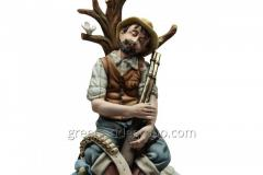 Porcelain Figurine Tired Hunter Article 49