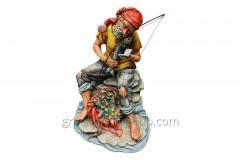 Figurine from porcelain Rybak Artikul 329