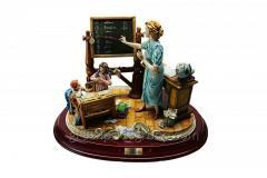 Porcelain Figurine School of Article 345