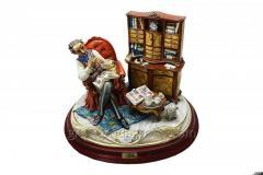 Statuette of a Philatelist Article 376 porcelain