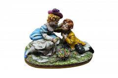 Porcelain Figurine Surprise Article 164
