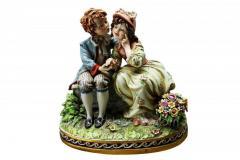 Porcelain Figurine First Kiss Marking 165