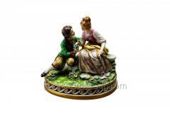 Porcelain Figurine Gallant Couple Article 175