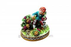 Figurine from porcelain Seasons 3 Article 178 A