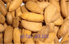 The almonds peeled