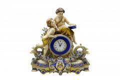 Porcelain Clock with the Angels Article 610