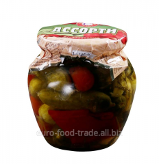 Allsorts No. 6 marinated tomatoes and cucumbers of