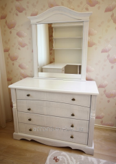Cabinet furniture for a bedroom