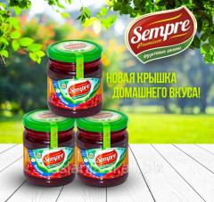 Natural berries in Asian Jam jams