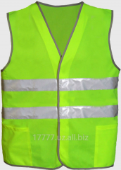 Vests are alarm
