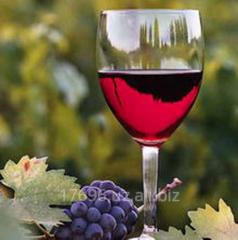 Виноматериал из красных сортов винограда
