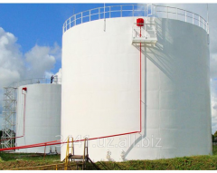 Steel vertical tanks from 10 m3 to 10 000 m3