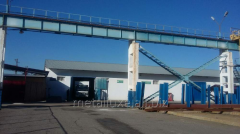 Warehouse complex for rendering logistics and