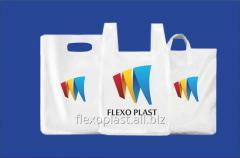 Пакет для магазина с логотипом