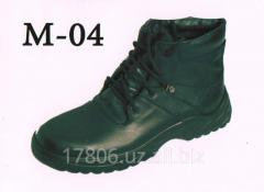 Special footwear M – 04 Genuine leather